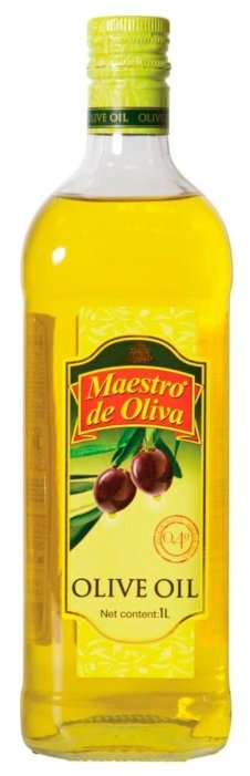 Maestro De Oliva Масло оливковое, стеклянная бутылка