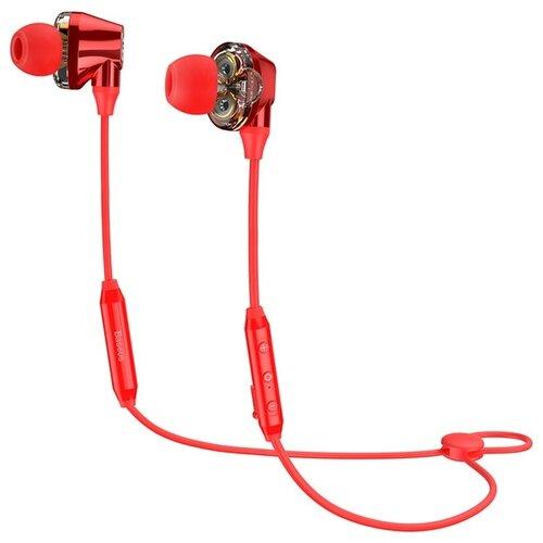 Наушники Baseus S10 red