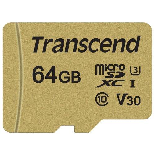 Купить Карта памяти Transcend TS64GUSD500S