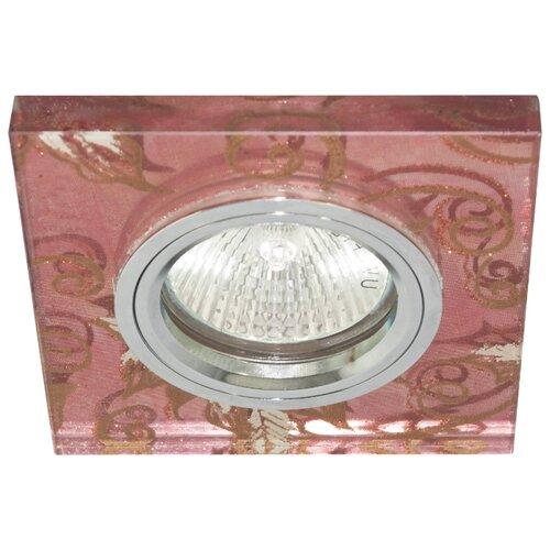 Встраиваемый светильник De Fran FT 895, хром / золотой узорВстраиваемые светильники<br>