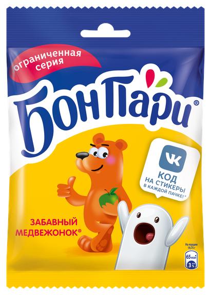 Мармелад жевательный Бон Пари Медведи 75г