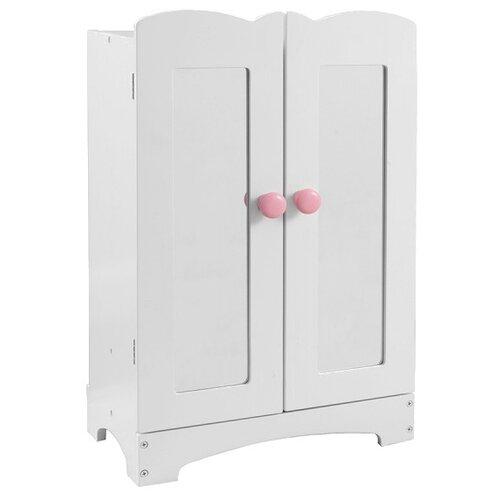 Купить KidKraft Шкаф для одежды (60132) белый, Мебель для кукол