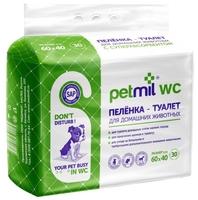 Пеленки для собак впитывающие Медмил Petmil WC 60х40 см