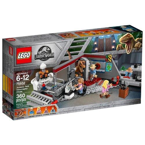 Купить Конструктор LEGO Jurassic World 75932 Охота на рапторов в Парке Юрского Периода, Конструкторы