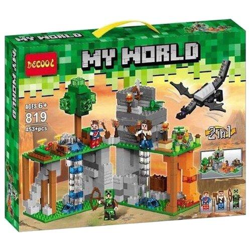 Купить Конструктор Jisi bricks (Decool) My World 819 Таинственный остров, Конструкторы