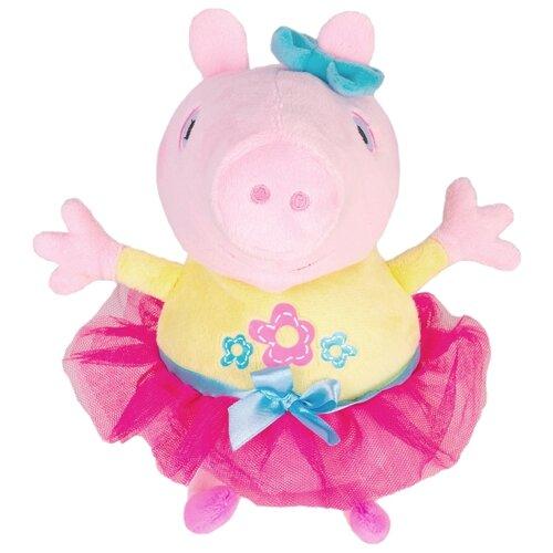 Купить Мягкая игрушка РОСМЭН Peppa pig Пеппа играет в прятки 25 см, Мягкие игрушки