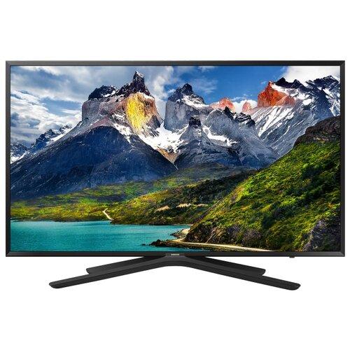 Купить со скидкой Телевизор Samsung UE43N5500AU темный титан