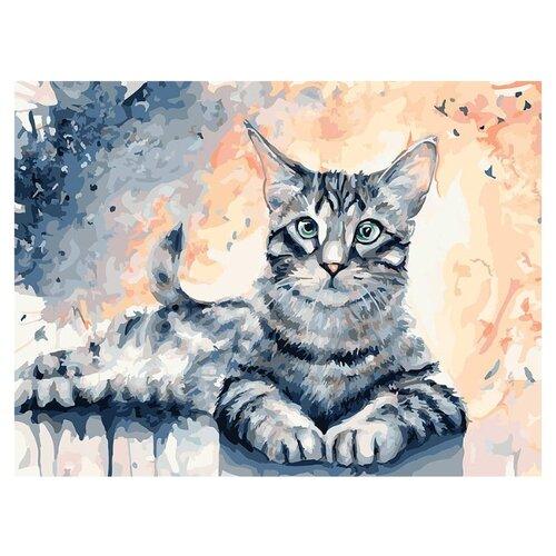 Купить Белоснежка Картина по номерам Барсик 30х40 см (102-AS), Картины по номерам и контурам