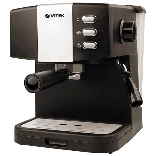 Фото - Кофеварка рожковая VITEK VT-1523, черный кофеварка vitek vt 1503