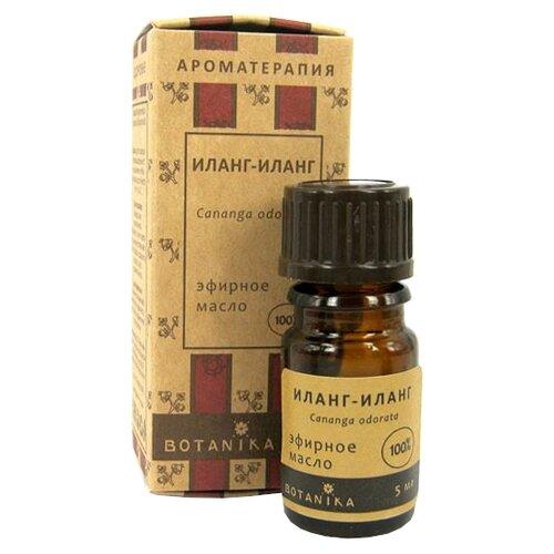 Botanika эфирное масло Иланг-иланг 5 мл botanika эфирное масло жасмин крупноцветковый 10 мл