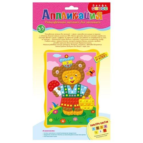 Купить Дрофа-Медиа Разноцветная мозаика д/м. Мишка (3325), Поделки и аппликации