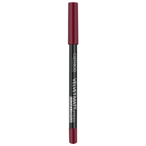 CATRICE Карандаш для губ Velvet Matt Lip Pencil Colour & Contour 060 In The Mood For Dragon FruitКонтур для губ<br>