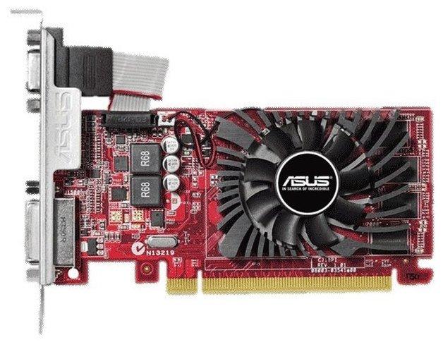 ASUS Видеокарта ASUS Radeon R7 240 770Mhz PCI-E 3.0 4096Mb 1800Mhz 128 bit DVI HDMI HDCP