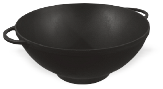 Купить Сковорода-вок Ситон Ч30090 30 см, черный по низкой цене с доставкой из Яндекс.Маркета (бывший Беру)