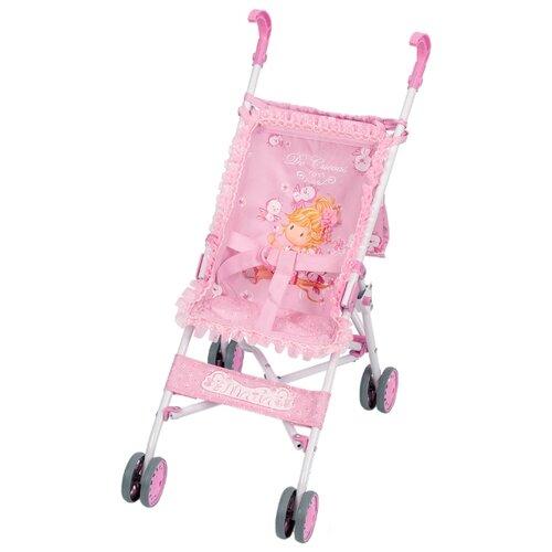 Купить Прогулочная коляска DeCuevas Мария 90023 розовый, Коляски для кукол