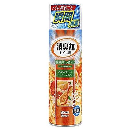 Shoshu-Riki Освежитель воздуха для туалета с ароматом апельсина 330 мл