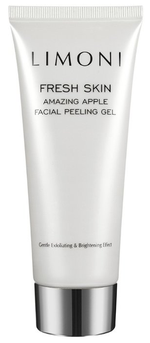 Limoni пилинг-гель для лица Fresh skin Amazing apple facial peeling gel