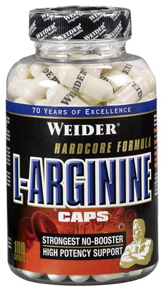 Аминокислота Weider L-Arginine (100 капсул)