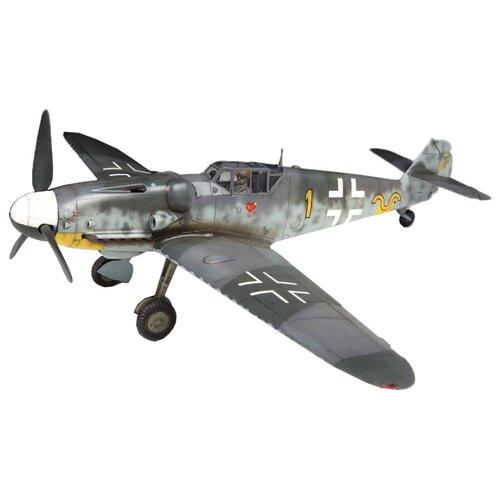 Купить Сборная модель ZVEZDA Немецкий истребитель Мессершмитт BF-109G6 (4816) 1:48, Сборные модели