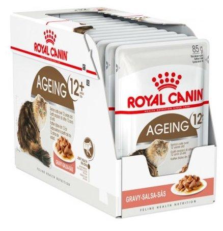 Корм для пожилых кошек Royal Canin Ageing +12 85 г (кусочки в соусе)