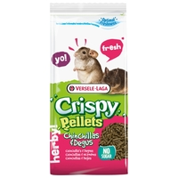 Корм для шиншилл и дегу Versele-Laga Crispy Pellets Chinchillas & Degus