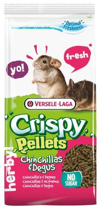 Корм для шиншилл и дегу Versele-Laga Crispy Pellets Chinchillas & Degus