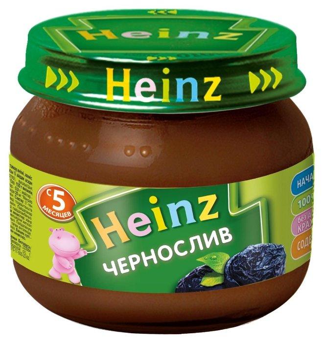 Пюре Heinz чернослив (с 5 месяцев) 80 г, 1 шт