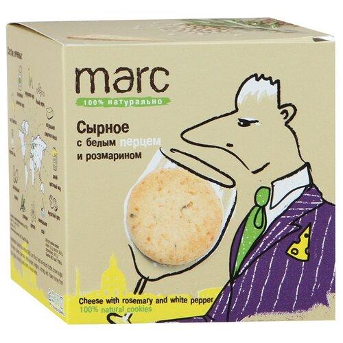 Печенье Marc Сырное с белым перцем и розмарином, 150 г веледа с розмарином