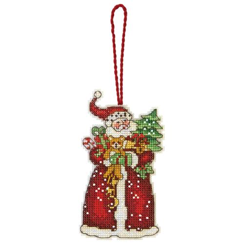 Купить Dimensions Набор для вышивания Santa Ornament (Украшение Санта) 6, 35 х 12 см (70-08895), Наборы для вышивания