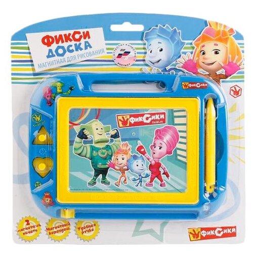 Доска для рисования детская Играем вместе Фиксики (HS8006KFIX) синий