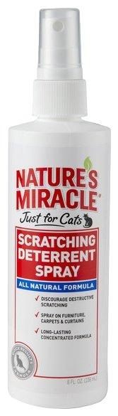 Спрей 8 in 1 спрей для кошек, против царапанья (236 мл)
