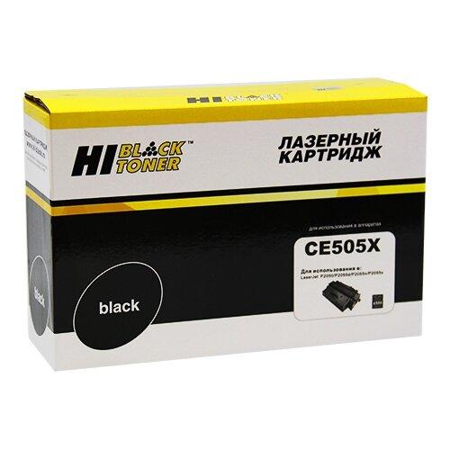 Фото - Картридж Hi-Black HB-CE505X, совместимый картридж hi black hb 60f5h00 совместимый