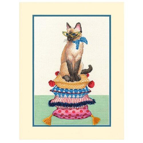 Dimensions Набор для вышивания Леди Кошка 25 х 36 см (70-35367)Наборы для вышивания<br>