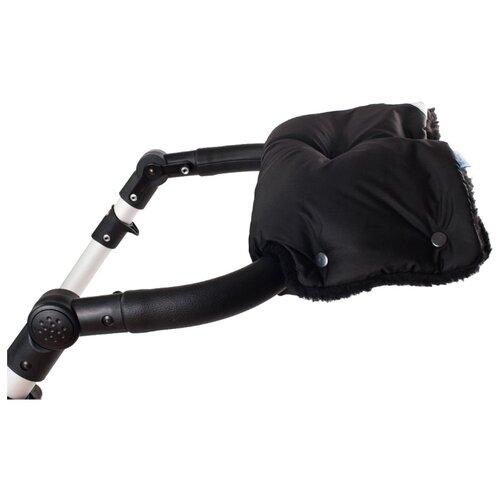 Noordline Меховая муфта blackАксессуары для колясок и автокресел<br>