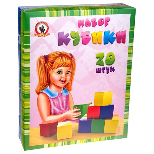 Кубики Русский стиль набор 09016, Детские кубики  - купить со скидкой