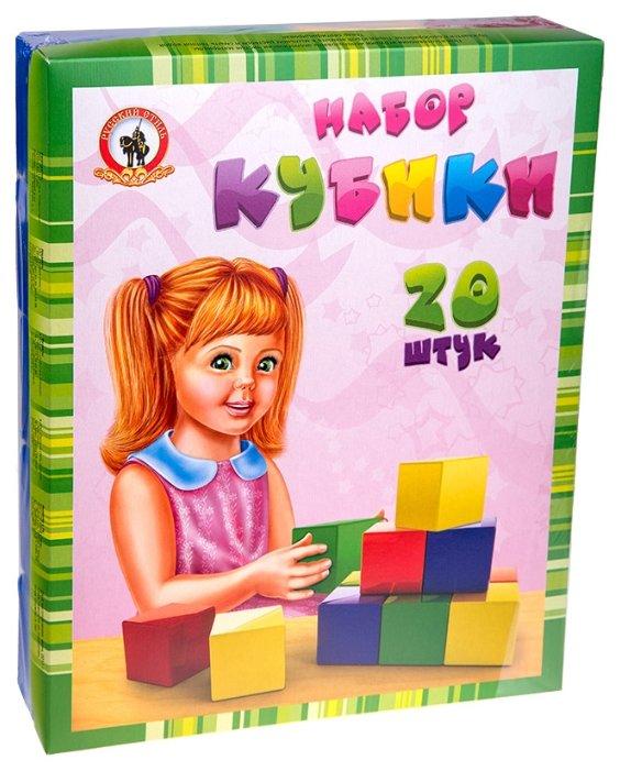 Кубики Русский стиль набор 09016