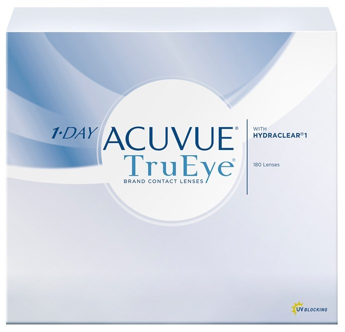 Контактные линзы Johnson & Johnson 1-Day Acuvue TruEye (180 линз / 8.5 / -4.5)