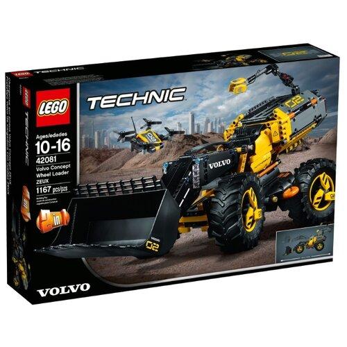 Конструктор LEGO Technic 42081 VOLVO колёсный погрузчик ZEUX, Конструкторы  - купить со скидкой