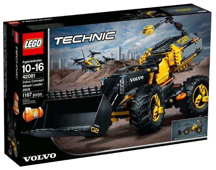 Конструктор LEGO Technic 42081 VOLVO колёсный погрузчик ZEUX