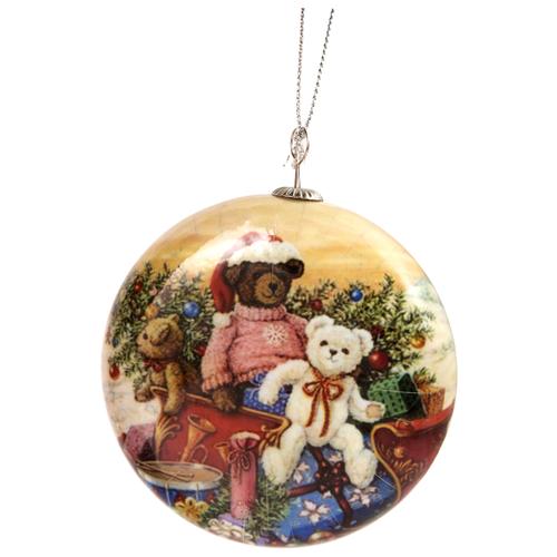 Елочная игрушка Русские подарки Подарки (171851) белый/синий/зеленый