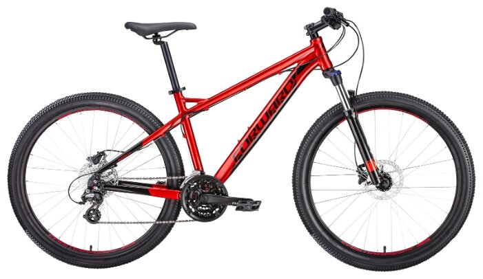 Горный (MTB) велосипед FORWARD Quadro 27.5 3.0 Disc (2019)
