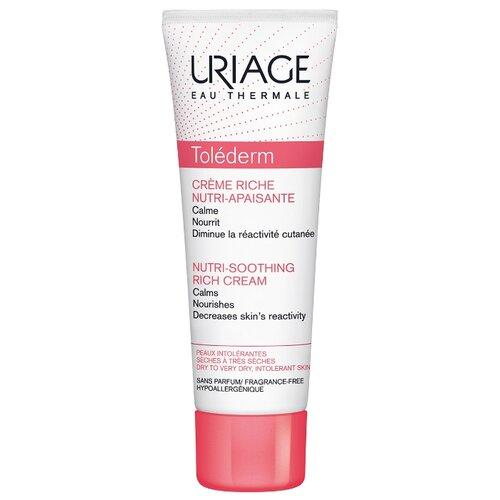 Uriage Tolederm Nutri-Soothing Rich Cream Питательный успокаивающий крем для лица для сухой кожи, 50 мл прурисед противозудный успокаивающий кремэмульсия 100 мл uriage pruriced