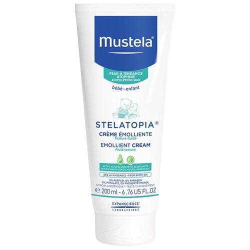 Mustela Смягчающий крем-эмульсия STELATOPIA, 200 мл mustela цена в россии