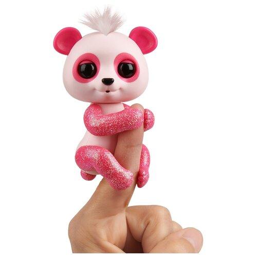 Купить Интерактивная игрушка робот WowWee Fingerlings Панда в блестках полли, Роботы и трансформеры