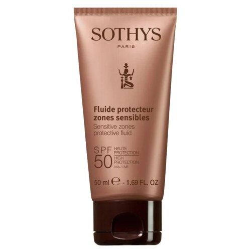 Sothys флюид Sensitive Zones, SPF 50, 50 мл