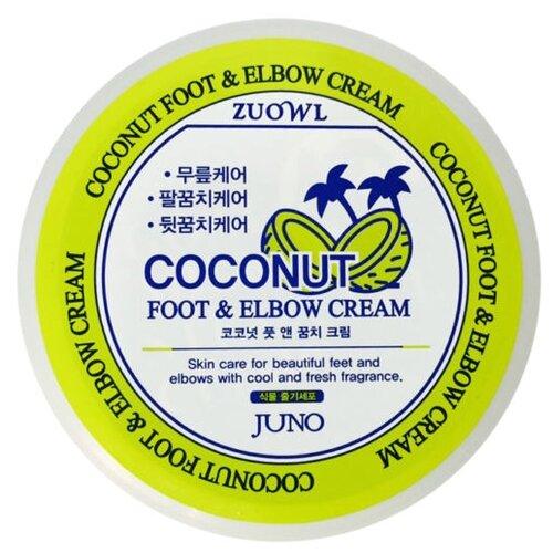 Juno Крем для ног и локтей Coconut 100 мл баночка крем для локтей