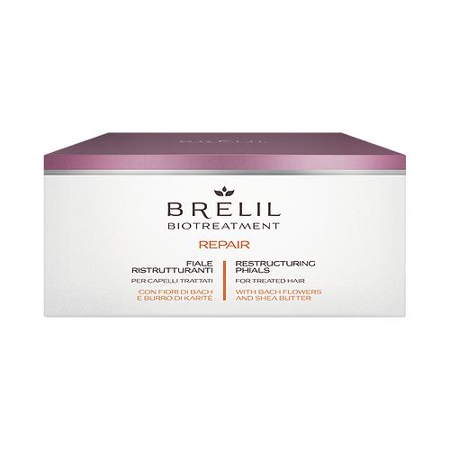 Купить Brelil Professional BioTraitement Repair Лосьон восстанавливающий для поврежденных волос, 10 мл, 12 шт.
