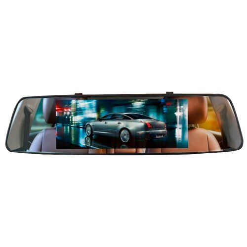 Видеорегистратор Slimtec Dual M7, 2 камеры черный видеорегистратор зеркало slimtec dual m7