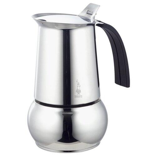 Гейзерная кофеварка Bialetti Kitty 6 порций (300 мл), серебристый