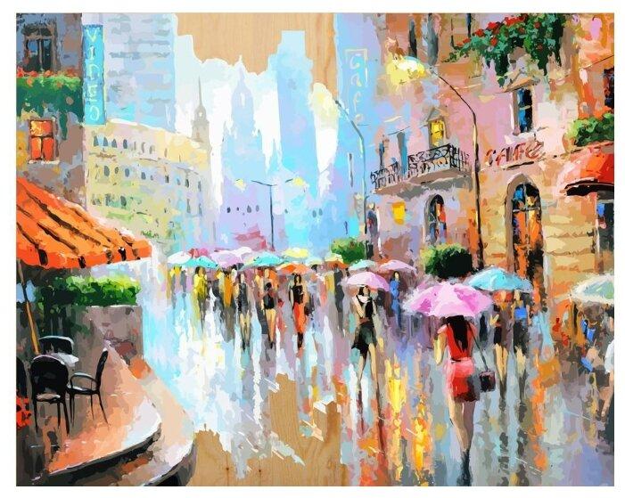 """Color Kit Картина по номерам """"Город в акварели"""" 40х50 см (DER015)"""
